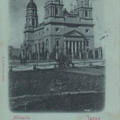 IASI , MITROPOLIA , CLASICA , CIRCULATA MAI 1901, Printata