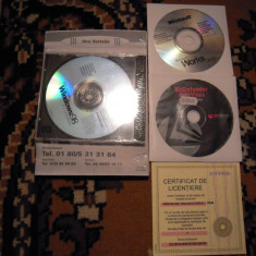 LOT de licente: Windows 98, Microsoft works 2000, BitDefender pt. colectionari - Aplicatie PC