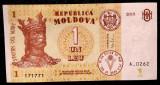 Moldova 1 Leu 2015 UNC **