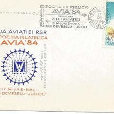 (No2) plic omagial-ZIUA AVIATIEI 84-Deveselu jud Olt, An: 1977