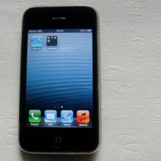 iPhone 3Gs Apple 8GB, Negru, Neblocat