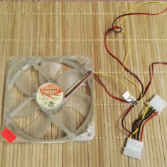Ventilator PC Thermaltake TT-1225 (AL) - Cooler PC Thermaltake, Pentru carcase