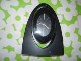 Ceas de camera Quartz cu alarma, stare BUNA, functioneaza cu o baterie AA