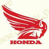 Logo Honda-Model 2_Tuning Moto_Cod: MST-056_Dim: 15 cm. x 12.9 cm.
