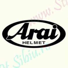 Arai Helmet_Tuning Moto_Cod: MST-049_Dim: 15 cm. x 6.6 cm.
