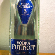 Vodka putinoff, 3 triple distilled, cl 50 gr 40