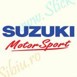 Suzuki Motor Sport_Tuning Moto_Cod: MST-028_Dim: 15 cm. x 5.2 cm.