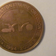 "MMM - Medalie Romania ""Asociatia Nationala de Ortodontie 1994 - 2004"""