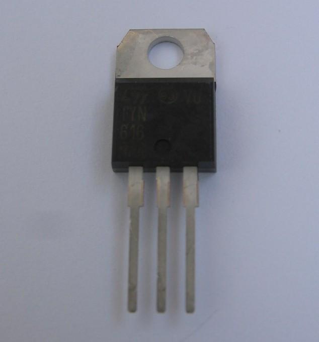 TYN616 tiristor16A/600v