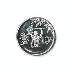 Tokelau 10 Centi 2012 - Elizabeth II, Bronze, Proof, 25 mm, KM-New UNC !!!, Australia si Oceania