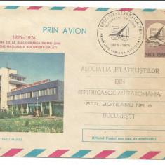 (No2) plic omagial-50 DE ANI DE LA INAUGURAREA LINIEI BUCURESTI- GALATI-1976