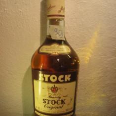 Brandy Stock, original, (B)distillato di vino invecchiato, cl.70 gr. 38, 5 ani 80 - Cognac