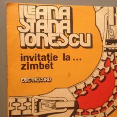 ILEANA STANA IONESCU - INVITATIE LA ....(EXE02068/ELECTRECORD) - VINIL/IMPECABIL - Muzica soundtrack