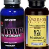 Tratament artroza, coxartroza, gonartroza, cartilaj uzat, antirid, ARTHROVITAL+MSM. - Supliment nutritiv