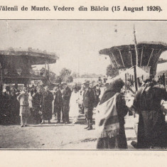 VALENII DE MUNTE  VEDERE DIN BALCIU  15 AUGUST 1926, Necirculata, Printata