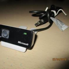 Webcam (Camera WEB) Microsoft LifeCam VX-500, 1.3 Megapixeli, ideala laptop, 1.3 Mpx- 2.4 Mpx, CMOS