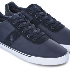 Pantofi sport Ralph L. Hanford SK masura 40, 5 si 41 41, 5 42 - Adidasi barbati Ralph Lauren, Culoare: Albastru, Piele naturala