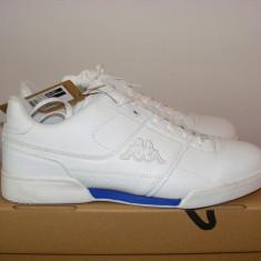 Adidasi Kappa Mes 2 Trainers Mens nr. 45 - Adidasi barbati Kappa, Culoare: Alb, Piele sintetica