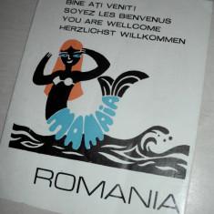 PLIANT RECLAMA - STATIUNEA MAMAIA //CCA 1975-1980 - Reclama Tiparita