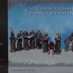 Set 15 Figurine - Calugari si Indieni - PEGASUS 1:48