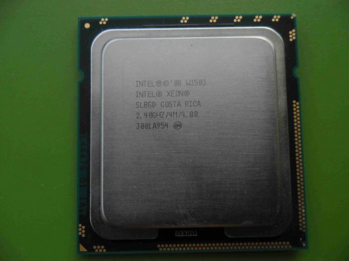 Procesor Intel Xeon Dual Core W3503 2.4GHz 4MB socket 1366