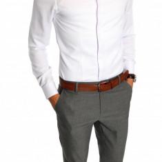 Camasa tip Zara bumbac alba - camasa barbati - camasa elegantacod produs: 6592, Marime: S, L, XL, XXL, Culoare: Din imagine, Maneca lunga