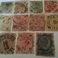 Austria 1890 f.joseph/ serie*** stampilata