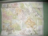 Carnet cu Harta Vienei ,inc.sec.XX , lista strazi