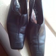 Pantofi dama caprice piele marime 6 sau 39 - Pantof dama, Culoare: Negru