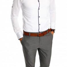 Camasa tip Zara bumbac alba - camasa barbati - camasa elegantacod produs: 6591, Marime: S, XL, Culoare: Din imagine, Maneca lunga