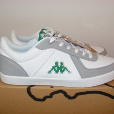 Adidasi Kappa Bermos 2 Trainers Mens nr. 43 - Adidasi barbati Kappa, Culoare: Alb, Piele sintetica