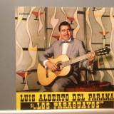 LUIS ALBERTO DEL PARANA & LOS PARAGUAYOS(EDE 0217/ELECTRECORD) - VINIL/IMPECABIL