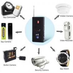 Detector Spion Laser CC308 PRO Anti Spy Camera spion Microfon GSM ascunse CC308+ - Detector microfoane