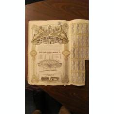 GE - 10 actiuni 5000 lei total Societatea Comunala Tramvaielor Bucuresti 1945/ 2