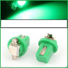 Led verde B8 5D 1 SMD 5050 auto bord masina 17 18 37 70 73 79 85 86 2721 - Led auto EuropeAsia, Universal