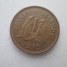Insulele Falkland   1 penny   1985