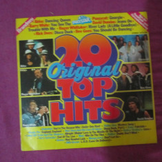 Vinil 20 original top hits - Muzica Dance Altele