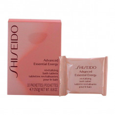 Shiseido - ADVANCED ESSENTIAL ENERGY revitalizing bath tablets 250 gr - Sare de baie