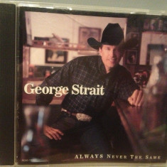 GEORGE STRAIT - ALWAYS NEVER .. (1999/MCA REC/USA) - CD APROAPE NOU/ORIGINAL - Muzica Country universal records