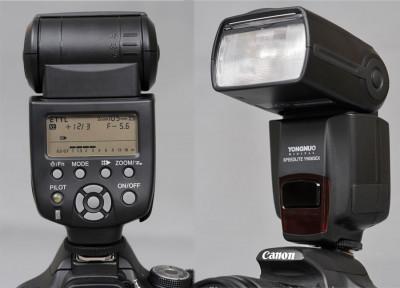 Flash / blit Yongnuo YN 565 compatibil TTL Nikon (YN565), garantie foto