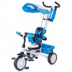 Tricicleta Chipolino Cross Fit Blue & White 2014 - Tricicleta copii