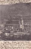 BRASOV , VEDERE GENERALA , CLASICA , CIRCULATA APR.1905, Printata