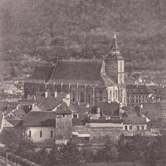 BRASOV, VEDERE GENERALA, CLASICA, CIRCULATA APR.1905 - Carte Postala Transilvania pana la 1904, Printata