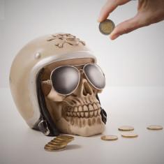 Pușculiţă Craniu Motociclist - Pusculita copii
