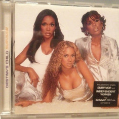 DESTINY'S CHILD - SURVIVOR (2001/COLUMBIA/AUSTRIA) - CD APROAPE NOU /ORIGINAL - Muzica Pop