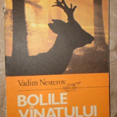 Bolile vanatului ( vanatoare )an 1984/300pag/161figuri- Vadim Nesterov - Carte Biologie