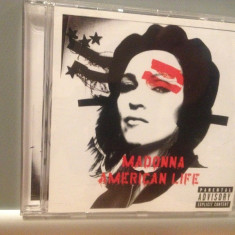 MADONNA - AMERICAN LIFE (2003/WARNER/GERMANY) - CD APROAPE NOU/ORIGINAL - Muzica Pop