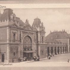CLUJ, GARA - Carte Postala Transilvania 1904-1918, Cluj Napoca, Necirculata, Printata