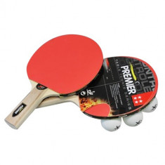 Set Tenis de Masă (2 Palete + 3 Mingi + Husă) - Paleta ping pong