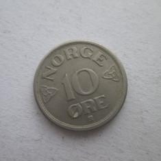Norvegia   10 ore   1952, Europa, Cupru-Nichel